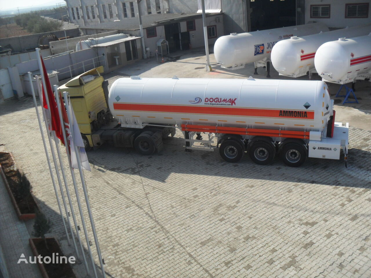 новая газовая цистерна DOĞUMAK FOR ANHYDROUS AMMONIA TRANSPORTATION