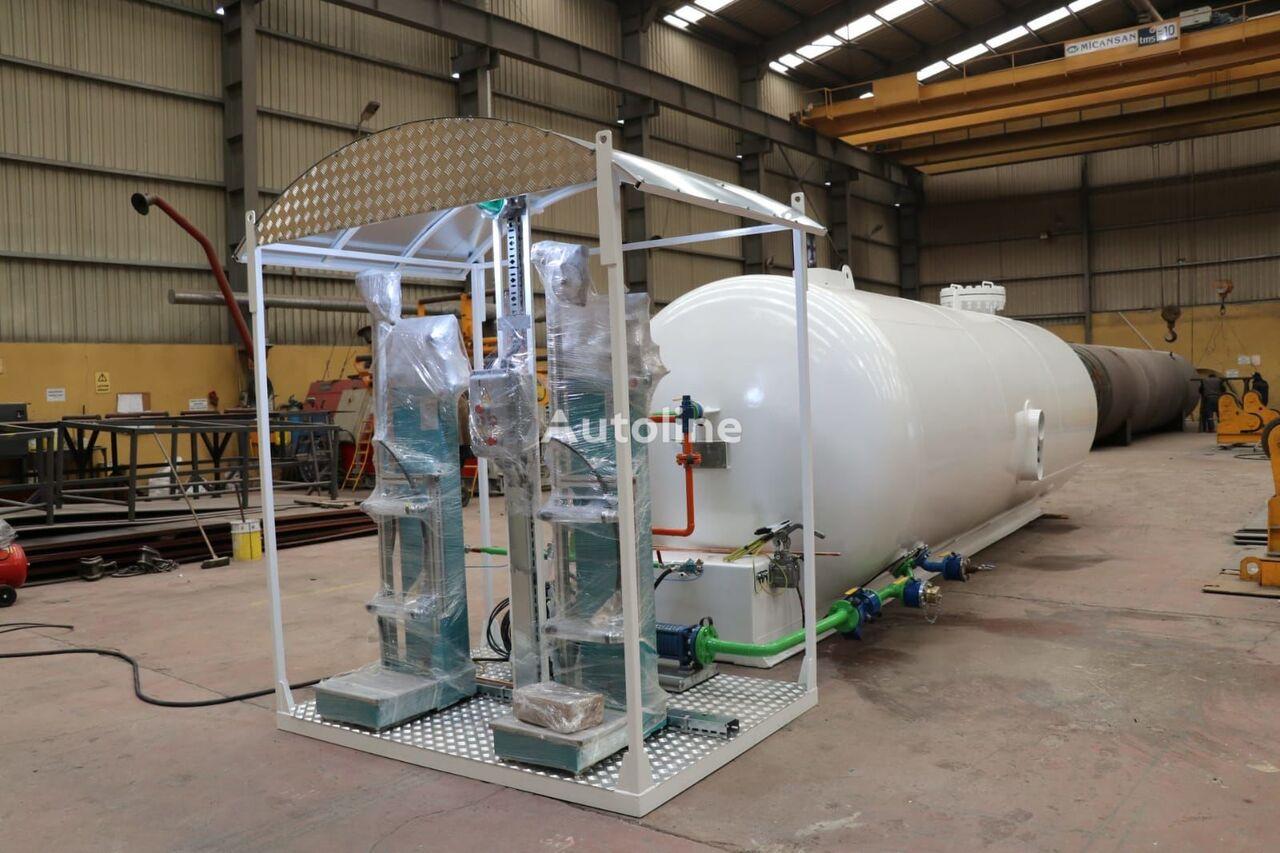 новая газовая цистерна MICANSAN 23 M3 USED TANK AND NEW SKID SYSTEM