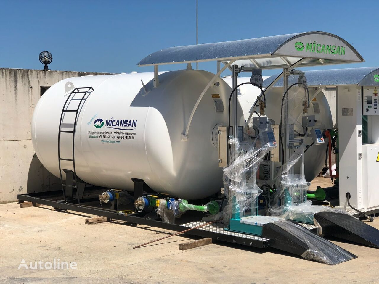 новая газовая цистерна MICANSAN BIG DISCOUNT NEW 2021LPG SKID SYSTEMS FILLING SCALES