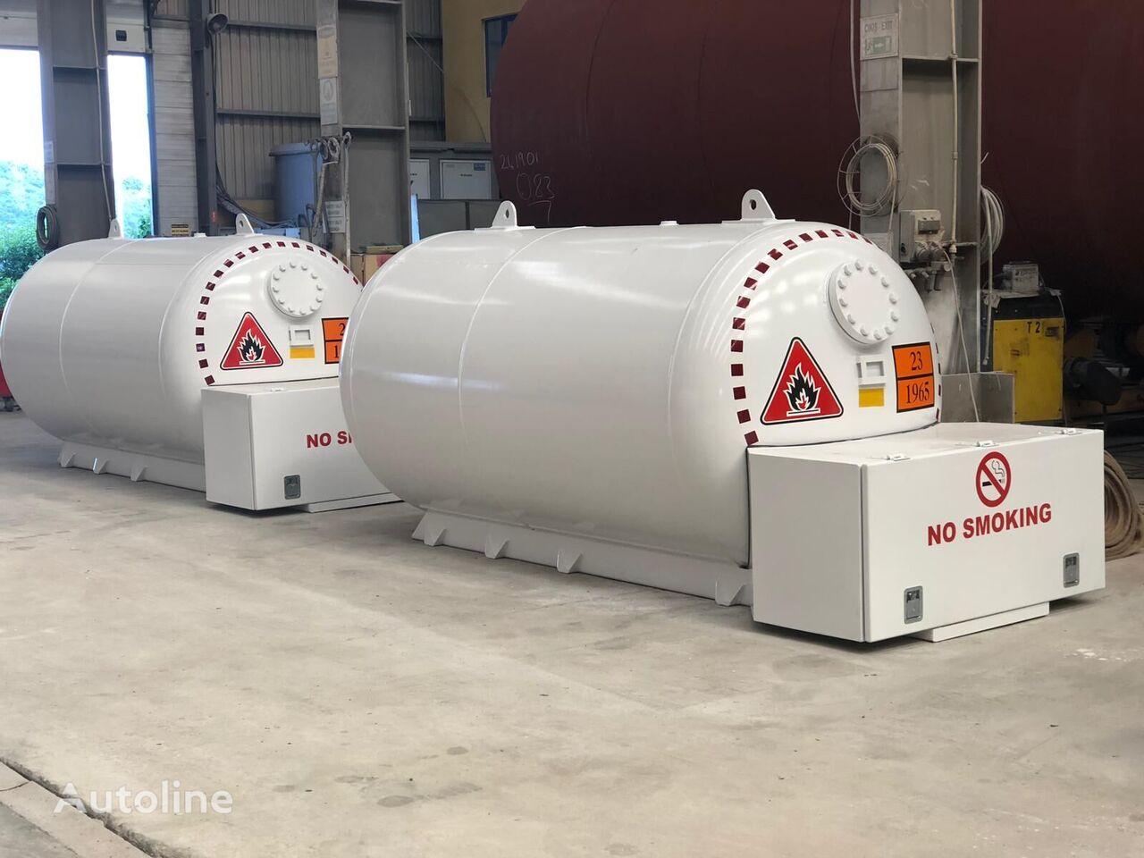 новая газовая цистерна MICANSAN bobtaıl tank 4-8-10 m3 for domestıc usıng
