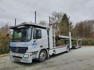 автовоз MERCEDES-BENZ Actros 1844 Austausch Motor ca 500000 + прицеп автовоз