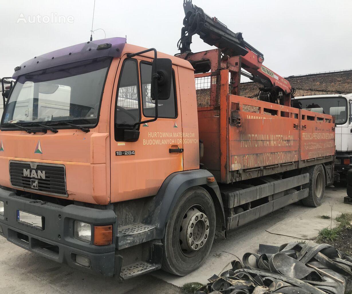 бортовой грузовик MAN 18.284 L89 HDS