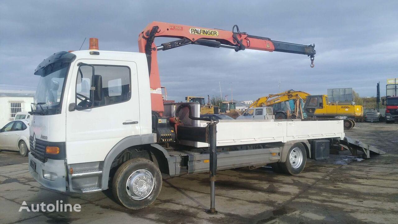 бортовой грузовик MERCEDES-BENZ ATEGO 1225 + HDS