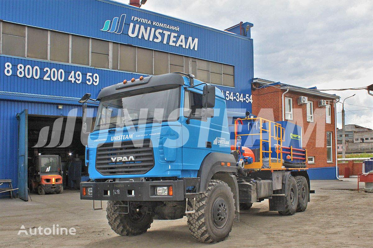 новый бортовой грузовик UNISTEAM ЦА плунжерный насос СИН-35 УРАЛ 4320 с ВПБ