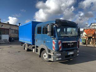 тентованный грузовик MAN TGL 8.220