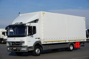 тентованный грузовик MERCEDES-BENZ ATEGO /1222 / E 5 / SKRZYNIA + WINDA / ŁAD. 5 990 KG / 18 PALET