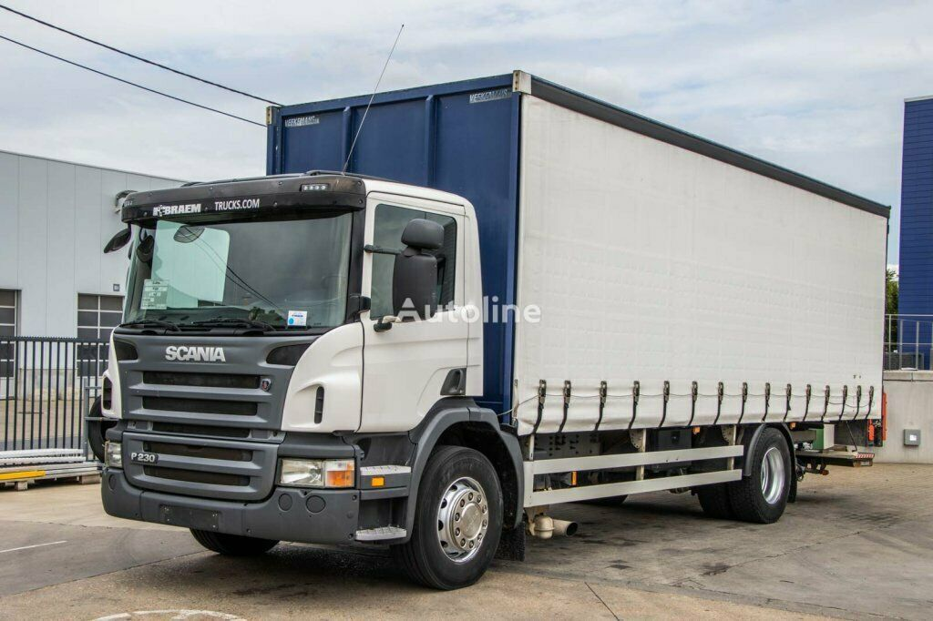тентованный грузовик SCANIA P230 P+P+HF