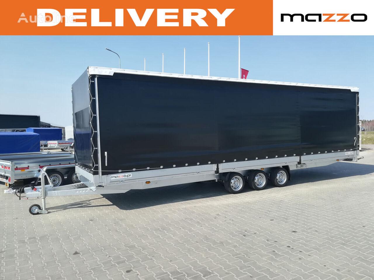 новый прицеп тентованный Curtain /Gardine/ Taut liner / Spedition trailer