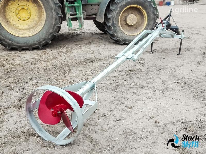 новый миксер для навоза Stach mar Güllemixer/ Mieszadło do gnojownicy 3-6 m / Mezclador