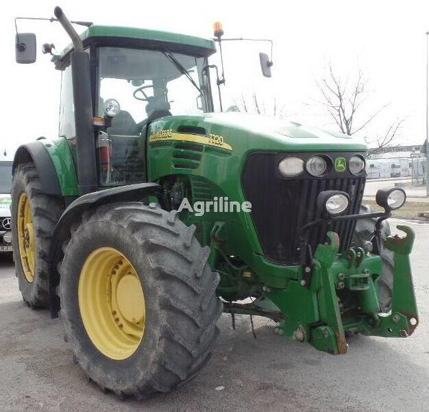трактор колесный JOHN DEERE 7720