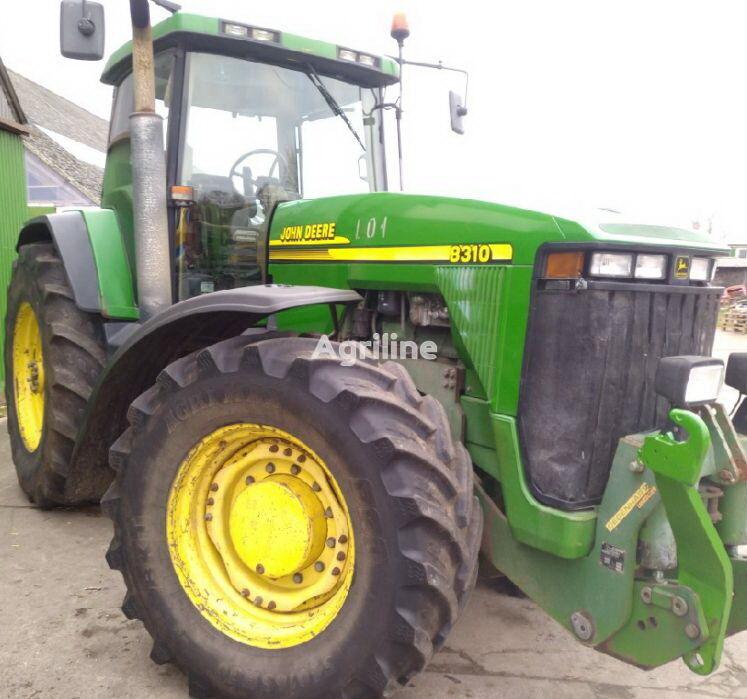 трактор колесный JOHN DEERE 8310