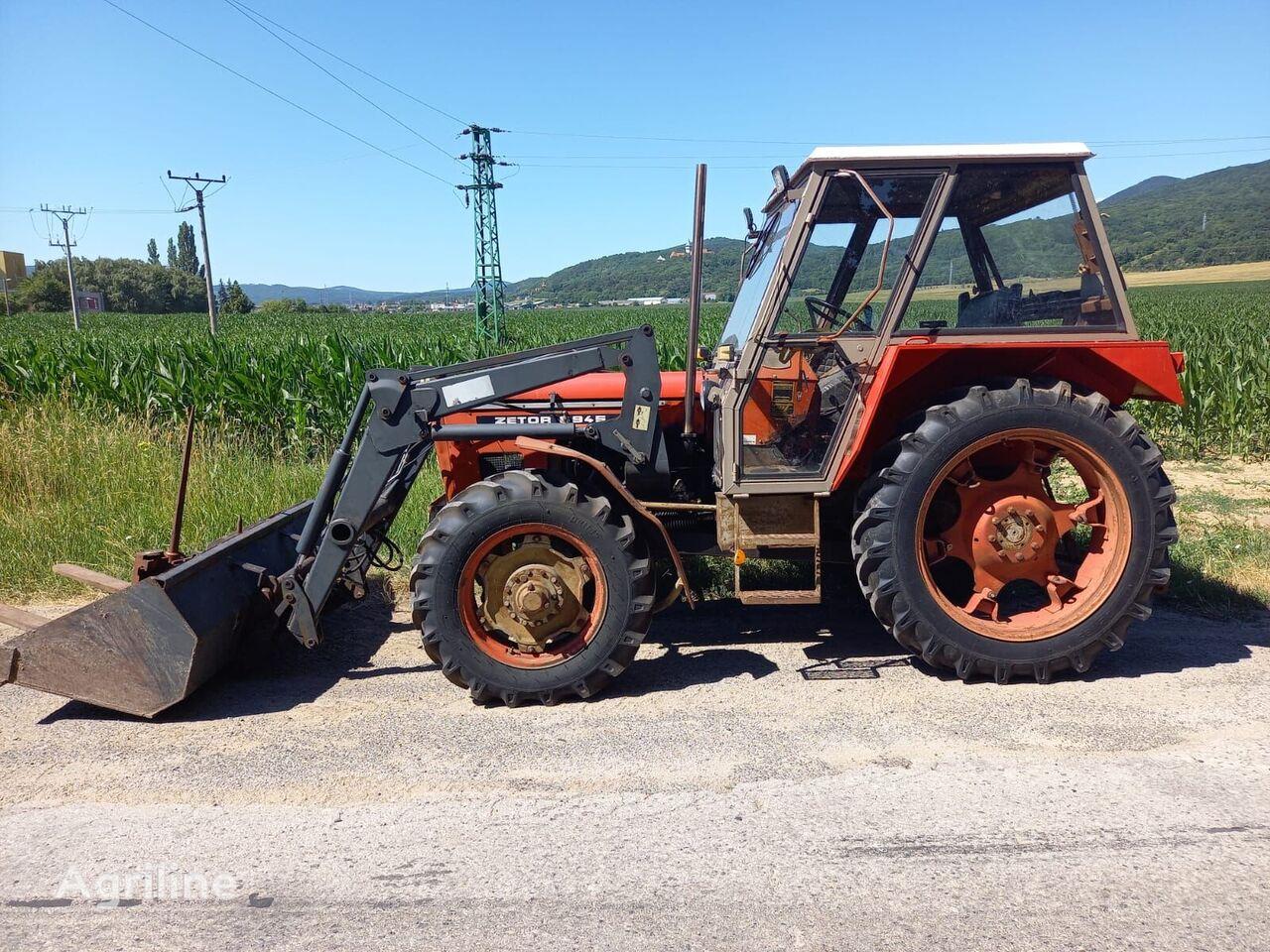 трактор колесный ZETOR 6945 4x4 front loader bucket 43kw