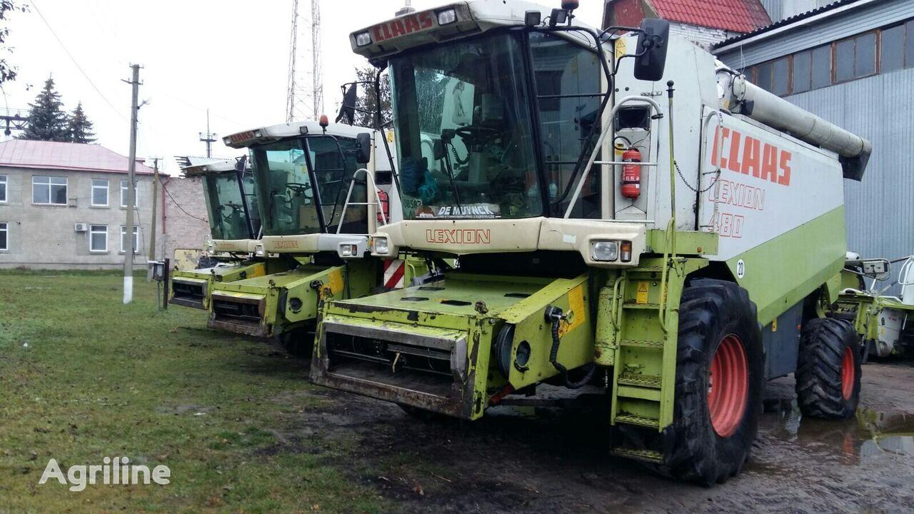 зерноуборочный комбайн CLAAS Lexion 480