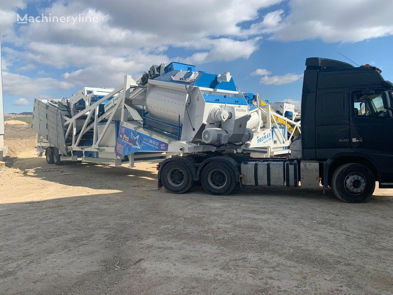 новый бетонный завод PROMAX Mobile Concrete Batching Plant M120-TWN (120m3/h)