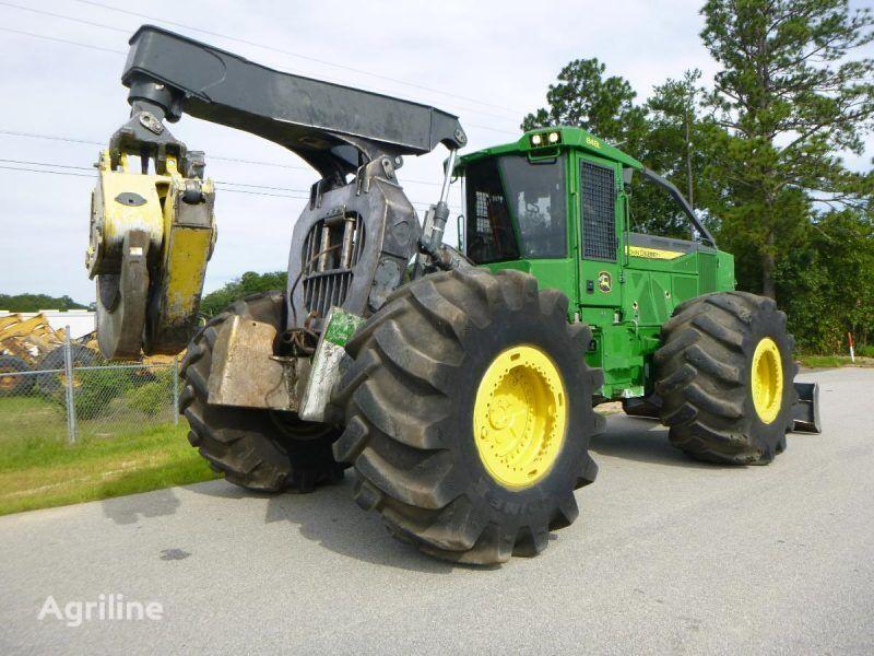 трелевочный трактор JOHN DEERE 848L