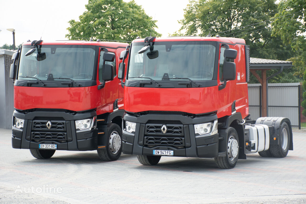 тягач RENAULT T460 / Retarder / Niska kabina / 125000 przebiegu