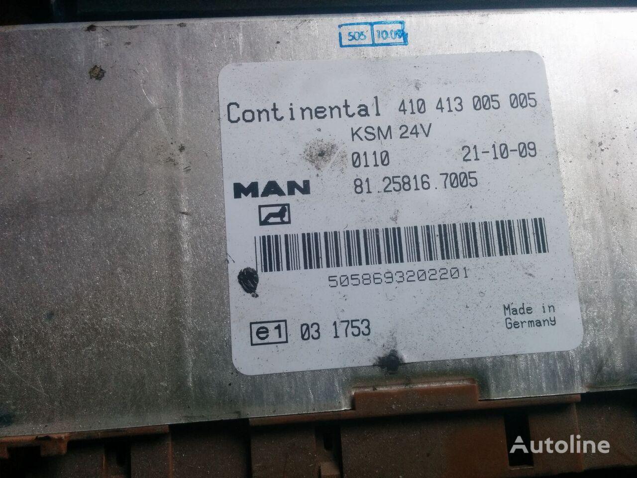 блок управления 410413005005 (81.25816.7005) для автобуса MAN City