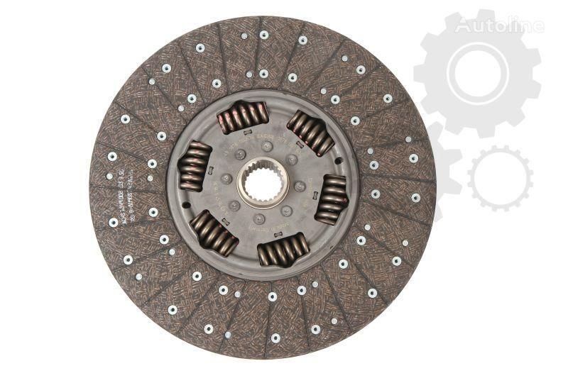 новый диск сцепления VOLVO SACHS (1878 000 634) для грузовика VOLVO  9700, 9900, B 9, FH 12, FM, FM 12, FM 9, NH 12 08.93-