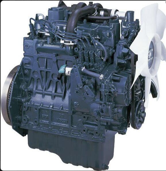 двигатель KUBOTA V1505 для холодильной установки