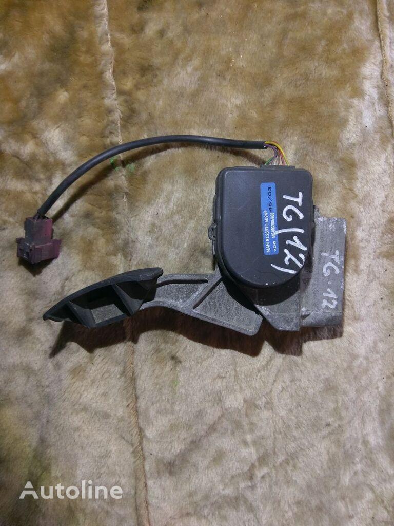 педаль акселератора MAN TG VDO 81.25970.6094 для тягача MAN
