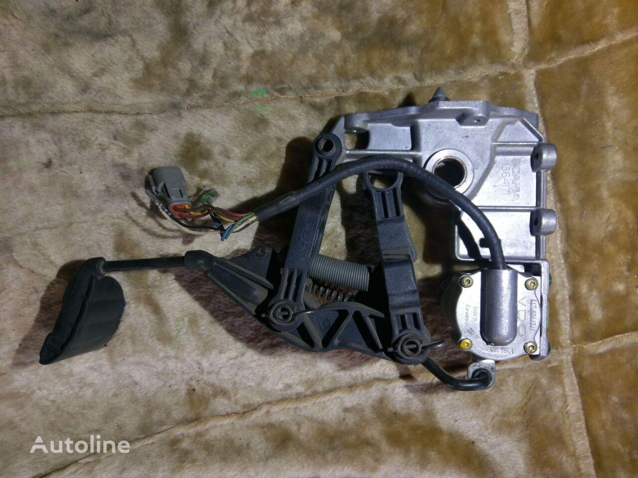 педаль акселератора SCANIA VDO 1364171 445804/7/1 для тягача